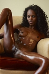 Valerie is smooth and silky in the oil. She should never be ...